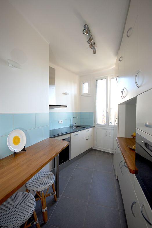 67 m² à optimiser  Studio d'Archi rénovation Architecte Paris