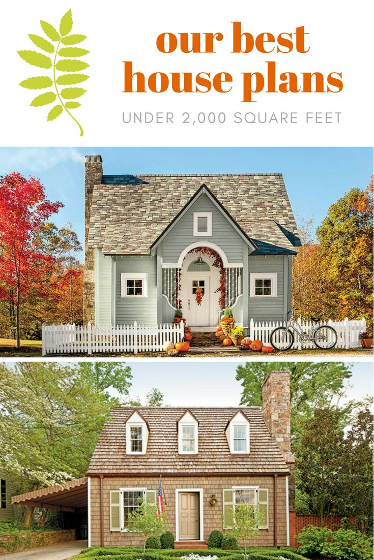 571 best southern living house plans images on pinterest for Home plans under 2000 sq ft