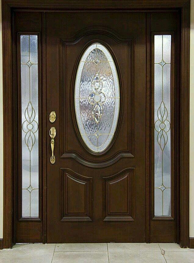 M s de 25 ideas incre bles sobre puertas de madera en for Diseno puertas de madera principales