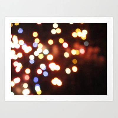 USA - Philadelphia - Lights Art Print by Shana's Shop - $25.00