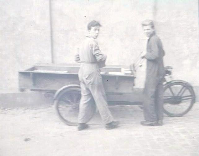 Tot 1970 werd er bezorgt met de bakfiets