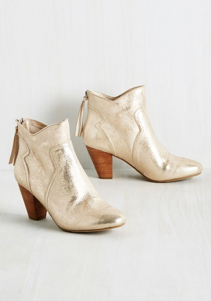Give It Your Quest Shot Bootie, #ModCloth