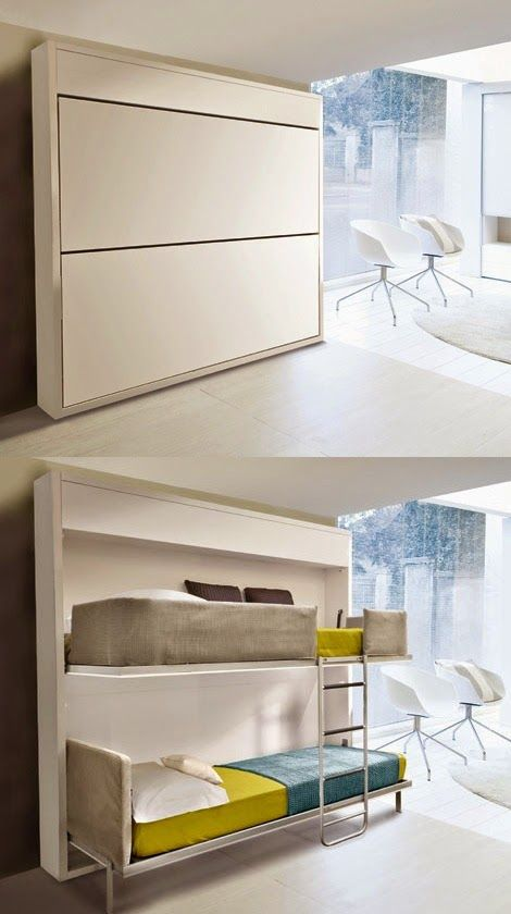 Small Space Living - Fold Out Beds