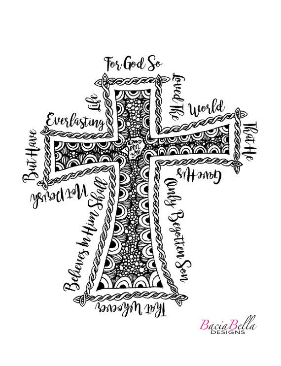 25 best ideas about bible john 3 16 on pinterest john 3 for For god so loved the world coloring page