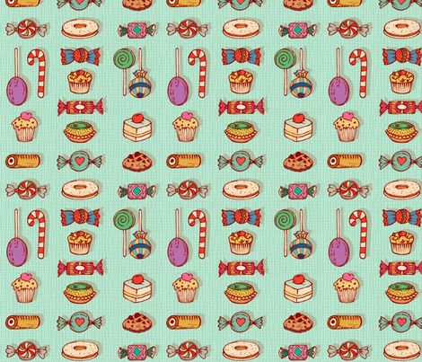 the_charm_of_granny fabric by chicca_besso on Spoonflower - custom fabric