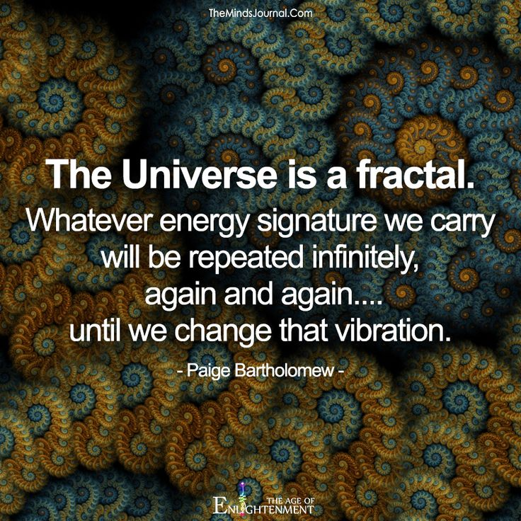 The Universe is a fractal - https://themindsjournal.com/the-universe-is-a-fractal/