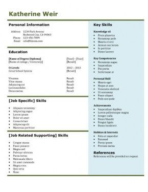 free resume templates examples guide resume builder - Job Guide Resume Builder
