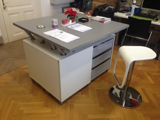 17 best images about ikea hack ideas for studio office on - Table convertible ikea ...