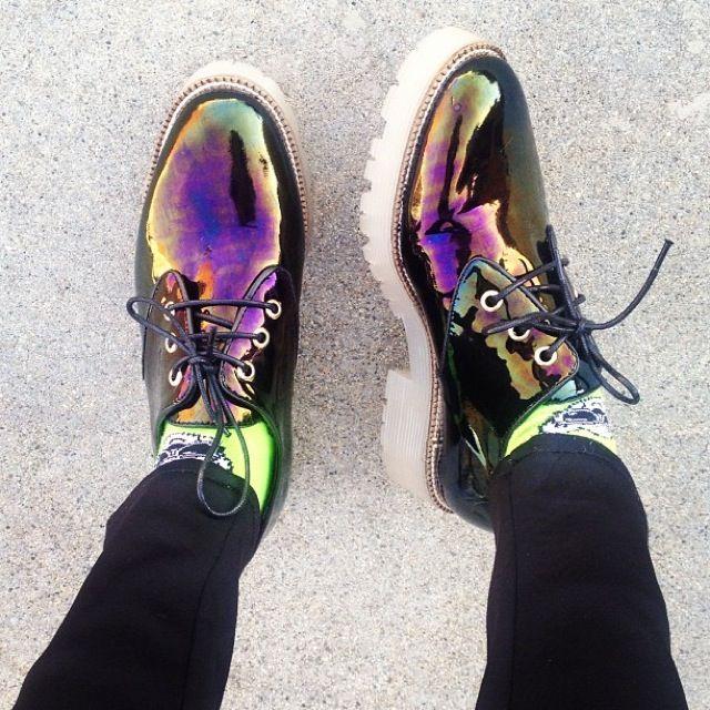 Rainbow Fish Adidas Shoes