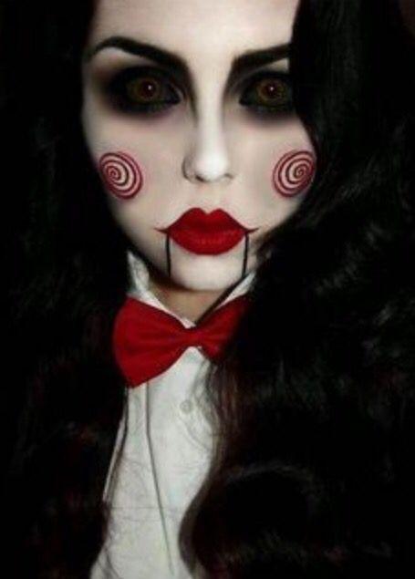 Saw makeup tutorial