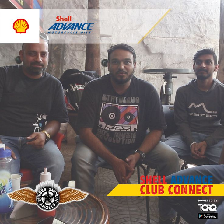 Shell Advance club connect powered by TORQ is experiencing biking passion and a warm welcome from Team RSA Rubber Smokin' Angels..! #TheWinningIngredient #TORQ #TorqRiderApp #bikerlife
