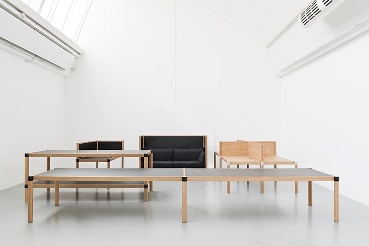 the bouroullec brothers have conceptualized an antithesis to cold, mundane interiors by forming an adaptable and practical oasis of peace and tranquility.