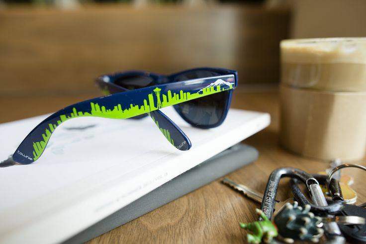 Two things our city loves. Coffee and the Seahawks. :) #townieshades
