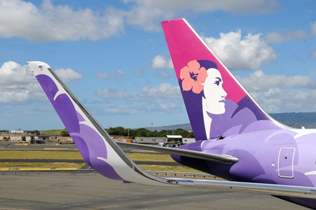 Know which airline sports this pretty livery?