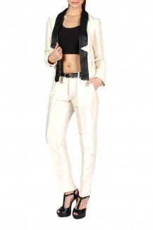 Raw Silk Suit Pants  Rs. 3,991