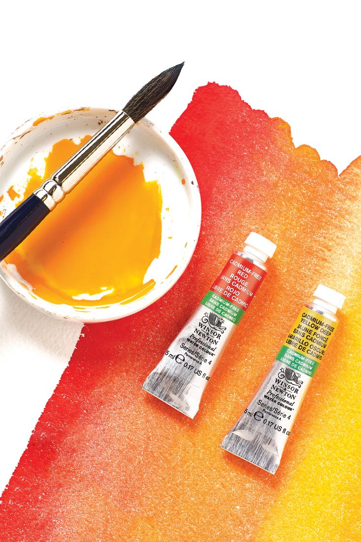 Winsor Newton Have Recently Added 8 Cadmium Free Colours To