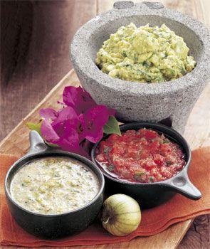 Guacamole with Roasted Tomatillos | Recipe
