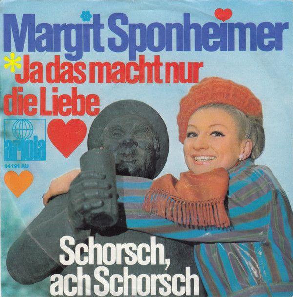 Margit Sponheimer - Ja Das Macht Nur Die Liebe (Vinyl) at Discogs
