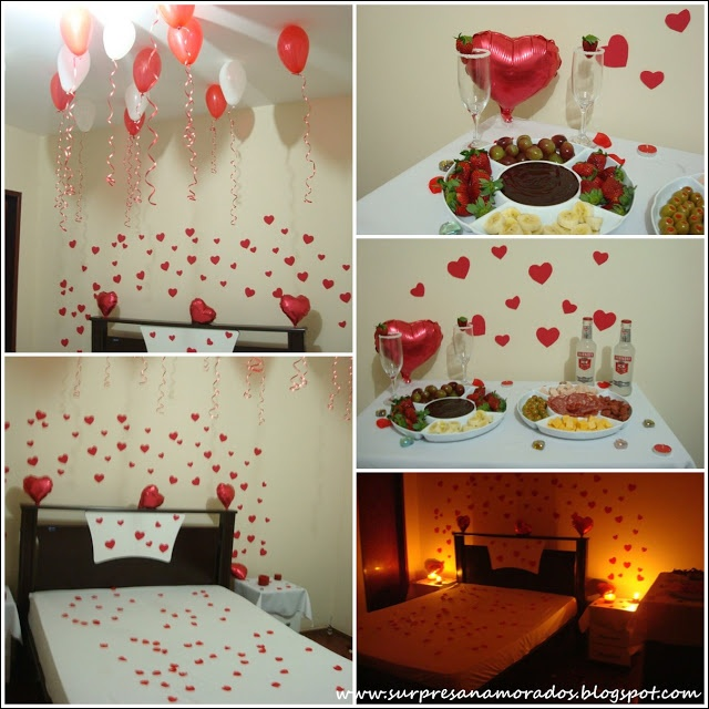Decoração para o Dia dos Namorados | Surpresas para Namorados