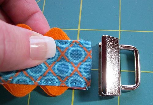 key fob tutorial  Thought the rick rack was a cute addition.