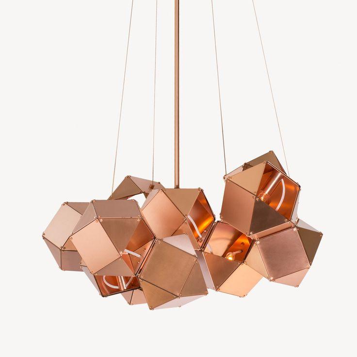 Copper chandelier trendy symmetric light antique copper chandelier satin copper exterior satin copper interior with copper chandelier aloadofball Gallery