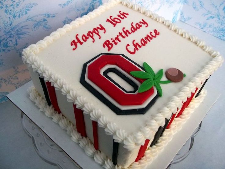 Ohio State on Cake Central