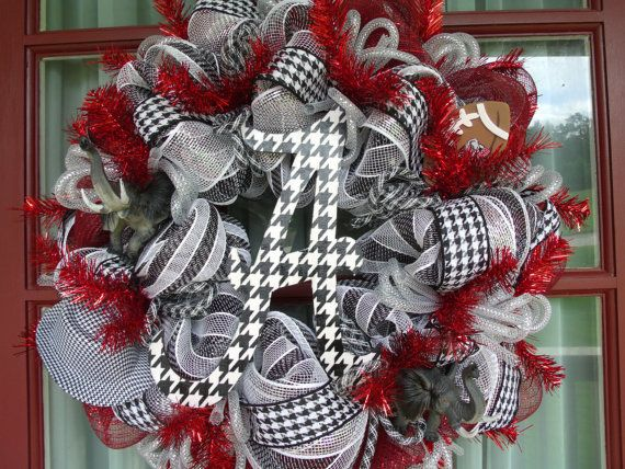 Hey, I found this really awesome Etsy listing at http://www.etsy.com/listing/154396424/alabama-roll-tide-deco-mesh-door-wreath