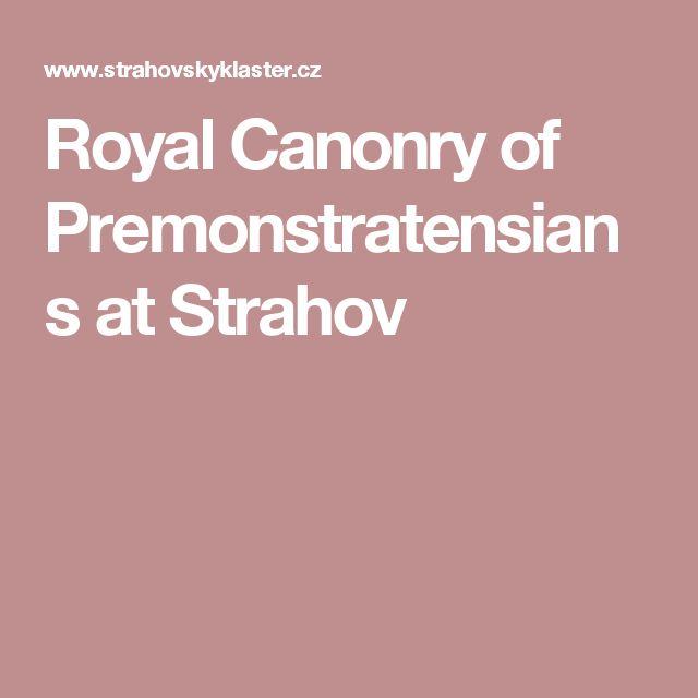 Royal Canonry of Premonstratensians at Strahov