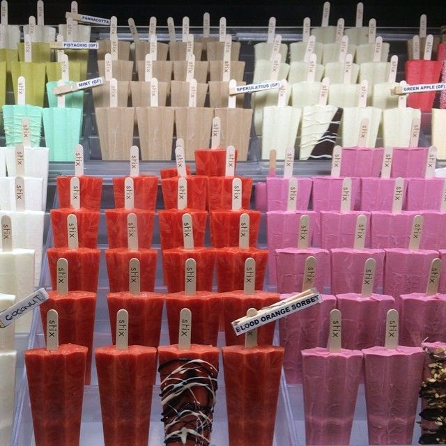 A rainbow of gelato and sorbet | Stix | Surry Hills Sydney