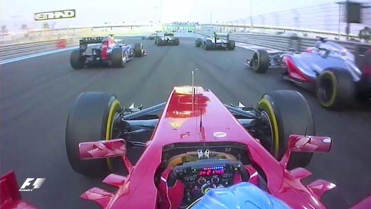 Alonso's Lightning First Lap | 2012 Abu Dhabi Grand Prix - YouTube