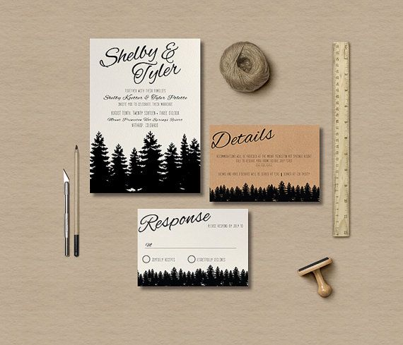 Hey, I found this really awesome Etsy listing at https://www.etsy.com/listing/271247657/rustic-wedding-invitation-template