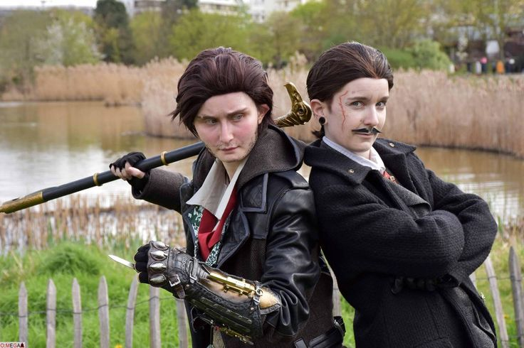 Maxwell Roth and Jacob Frye Cosplay The Blighter and the Assassin