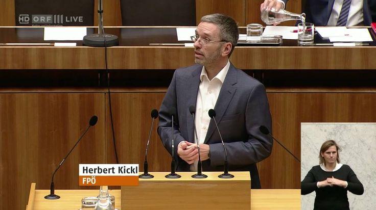 Hier die sehenswerte Rede von FPÖ-Generalsekretär Herbert Kickl über Zuwanderung und Arbeitsmarkt in der heutigen Debatte über das Sozialbudget: