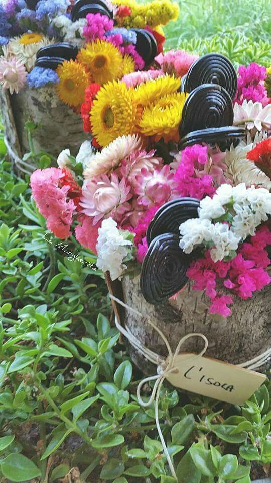 Liquirizia e fiori di campo