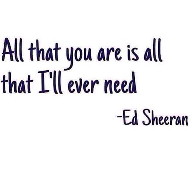 ❎ Ed Sheeran ❎ Daily Dose, Future Wife Quotes, Ed Sheeran Sea, Inspiration, Ed Sheeran Facts Love, Damn True, Quotes Lov...