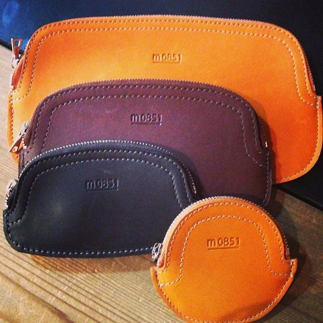 #m0851 | Leather coin purses in all sizes and colors! | www.m0851.com
