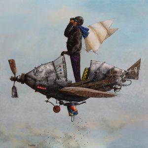 Catherine Chauloux ~ Le semeur d'arc en ciel