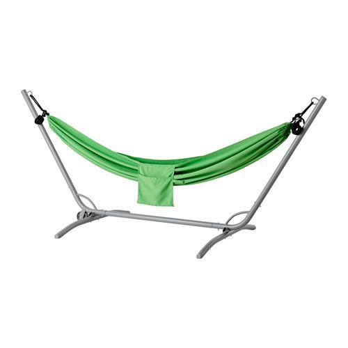 GÅRÖ / RISÖ Hangmat met standaard - groen - IKEA