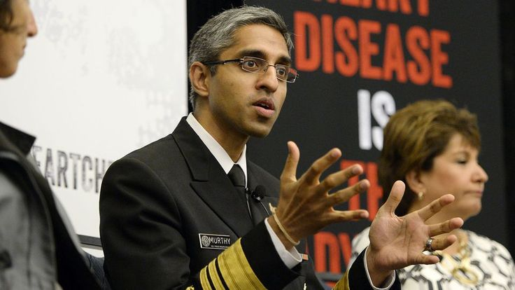 WASHINGTON—Highlighting the benefits of brief, infrequent aerobic activity, U.S. surgeon general Vivek Murthy urged Americans Friday to make sure to exercise once every few months during a frenzied moment of panic regarding their health.