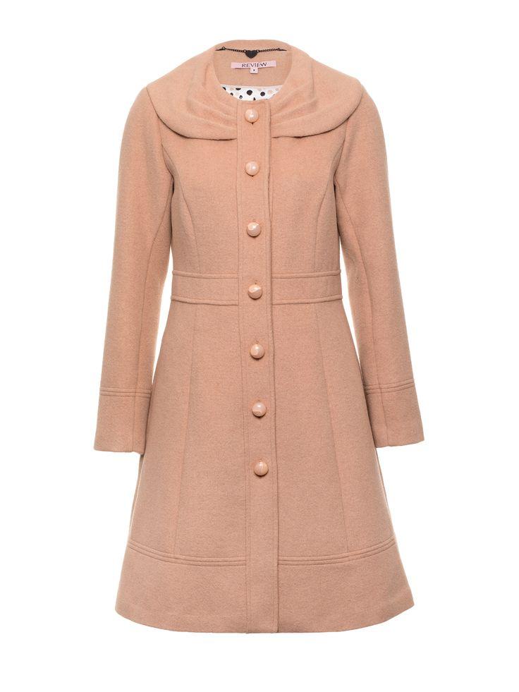 Leona Coat | Caramel | Coat