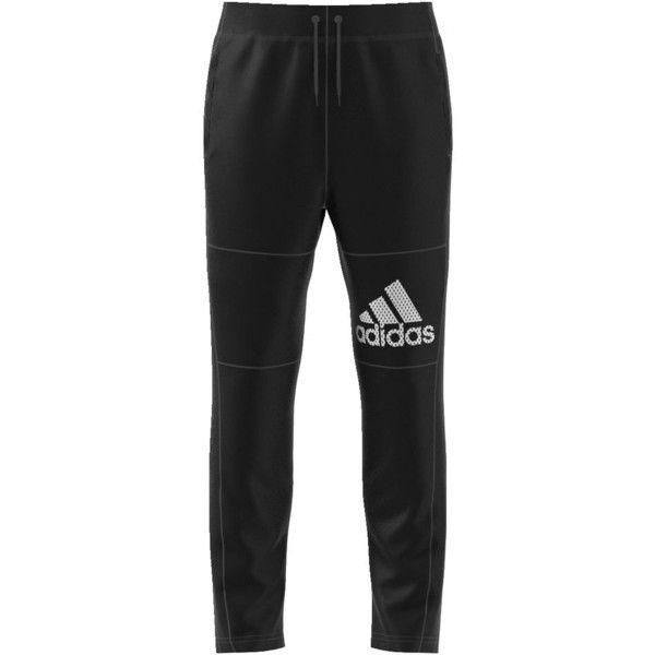 adidas Men's BTS Fleece Pant Black Pants (62 CAD) ❤ liked on Polyvore featuring men's fashion, men's clothing, men's activewear, men's activewear pants, black and mens activewear pants