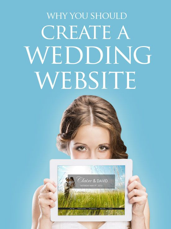 Top advantages for having your own special wedding website by ourbigdayinfo.com