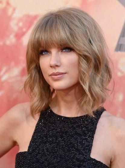 25 Ideen Hair Bangs Lob Taylor Swift für 2019 #longbobhaircutswithbangs – #bangs #ideen #longbobhaircutswithbangs