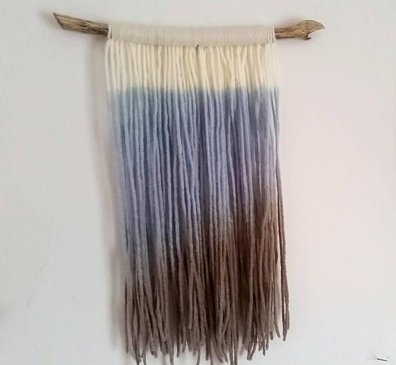 Hey, I found this really awesome Etsy listing at https://www.etsy.com/ca/listing/533188268/handmade-tapestry-fibre-art-dip-dye-wall