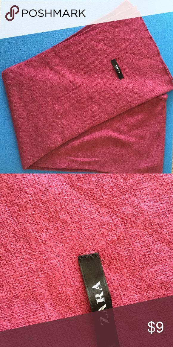 Zara woolen scarf Zara scarf size 20x72 inches zara Accessories Scarves & Wraps