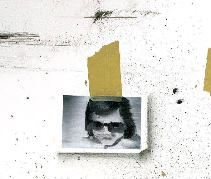 Rafal Bujnowski - Studio walls - detail