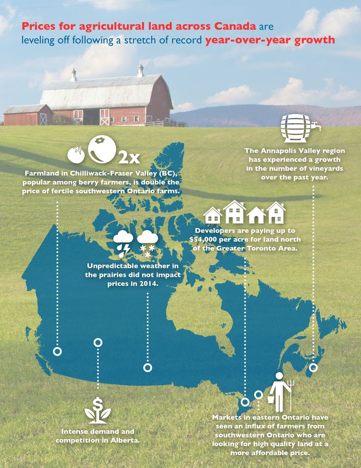The 2014 RE/MAX Farm Report indicates the price of farmland in most Canadian markets has either held steady or increased this year following a period of strong year-over-year growth.  Check out the full Farm Report to learn more. #REMAX #FarmReport #Canada #RealEstate