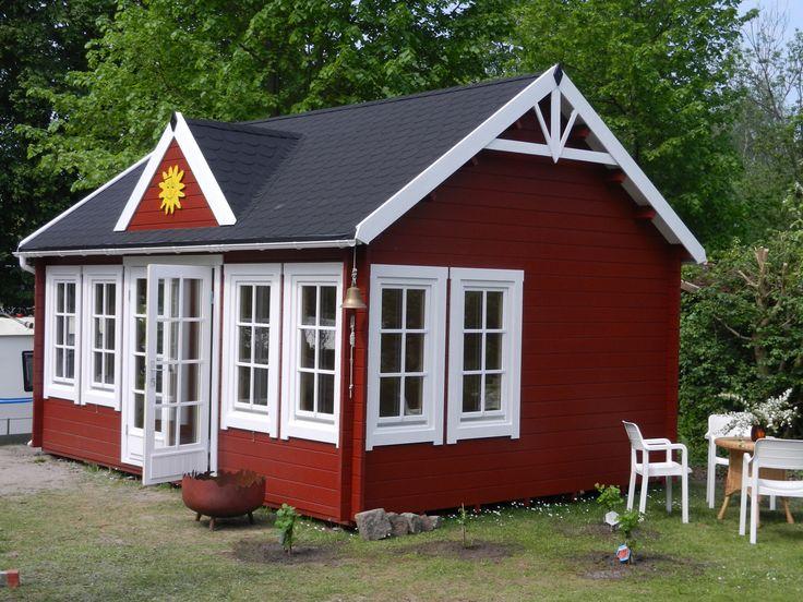 Gartenhaus schwedenstil  55 best Gartenhäuser Schwedenrot images on Pinterest | Terrace ...