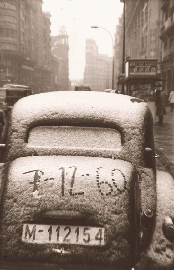 Madrid nevado como pone en el coche 7 de diciembre de - Montadores de pladur en madrid ...