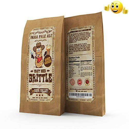? #Award Winning Gourmet Beer Brittle? Yes, it's possibly the best brittle you will ever have tried. This dark roast brittle is made with Spanish peanuts, Amber A...